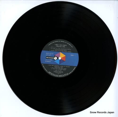DYKE, LEROY VAN greatest hits MCA-5112 - disc