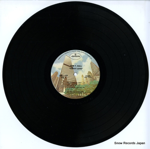 HALL, TOM T. about love SRM-1-1139 - disc