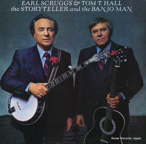 SCRUGGS, EARL, AND TOM T. HALL the storyteller and the banjo man FC37953 - front cover