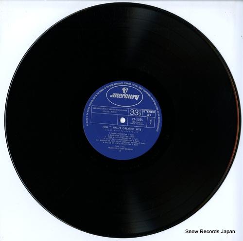 HALL, TOM T. tom t. hall's greatest hits RJ-5065 - disc