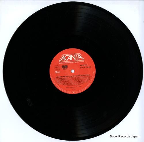 HOLLIDAY, MELANIE singt ihre groben fernseh-erfolge 40.22911 - disc