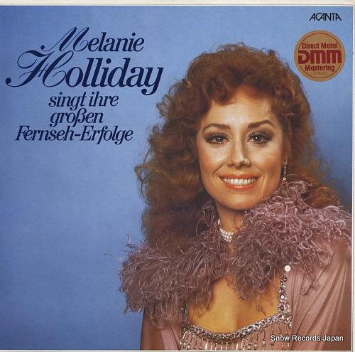 HOLLIDAY, MELANIE singt ihre groben fernseh-erfolge 40.22911 - front cover