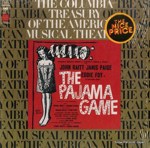 オリジナル・ブロードウェイ・キャスト the pajama game S32606