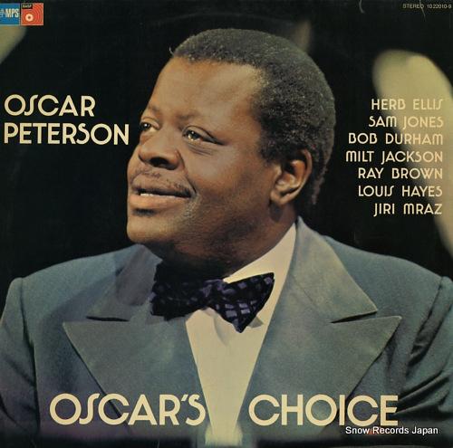 オスカー・ピーターソン oscar's choice 1022010-9