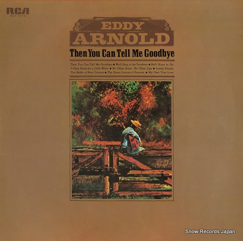 ARNOLD, EDDY the you can tell me goodbye RGP-1016 - front cover