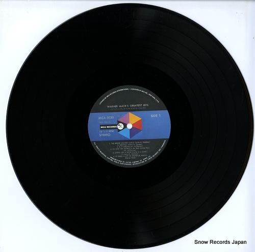 MACK, WARNER greatest hits MCA-5030 - disc