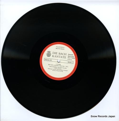 RILLING, HELMUTH die bach kantate CLV71906 - disc