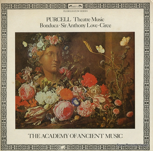 ACADEMY OF ANCIENT MUSIC, THE purcell; theatre music DSLO527 - front cover