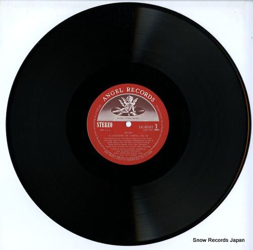 WILLCOCKS, DAVID britten; a ceremony of carols EAC-80383 - disc