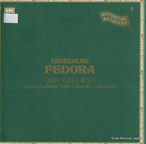 ロレンツォ・モラヨーリ giordano; fedora 3C165-17996/97M