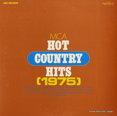 V/A mca hot country haits 1975 MCA9276-77 - front cover
