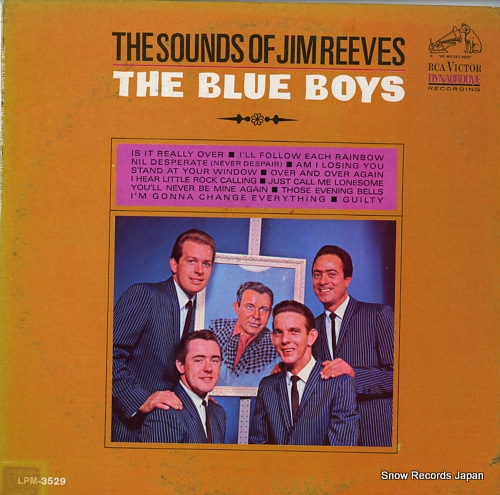 BLUE BOYS, THE the sounds of jim reeves LPM-3529 - front cover