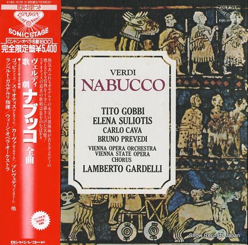 ランベルト・ガルデルリ ヴェルディ:歌劇「ナブッコ」全曲 K18C-9170/2
