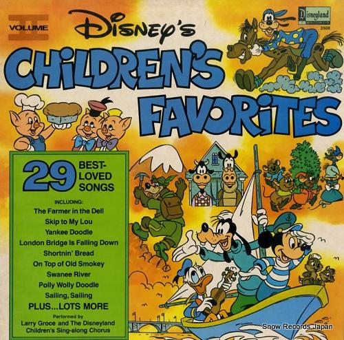ラリー・グロース disney's children's favorites vol.2 DISNEYLAND2508