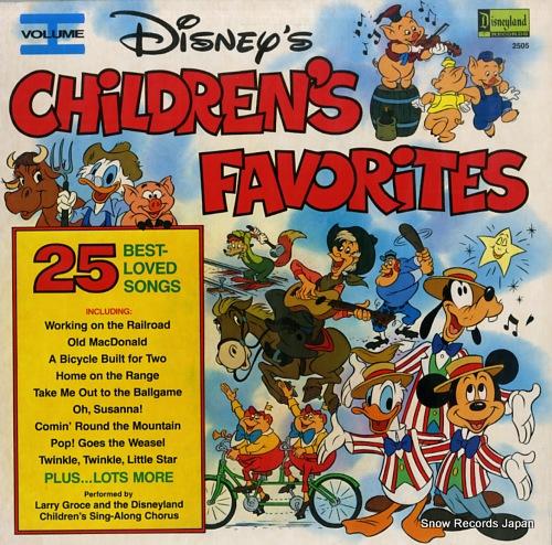 ラリー・グロース disney's children's favorites vol.1 DISNEYLAND2505