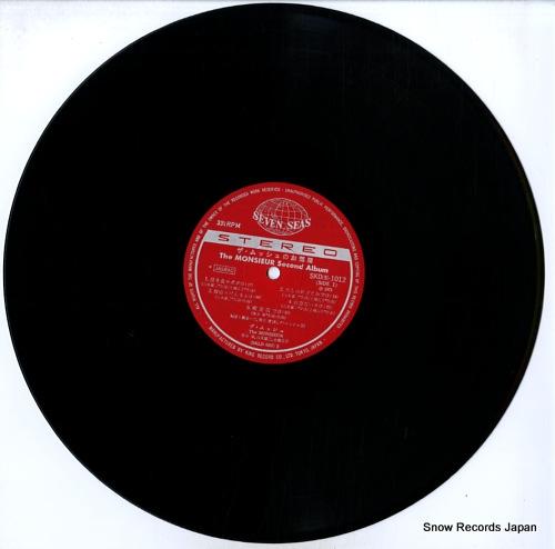 MONSIEUR, THE second album SKD(S)1012 - disc