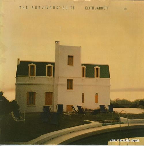 JARRETT, KEITH the survivor's suite ECM1085 - front cover