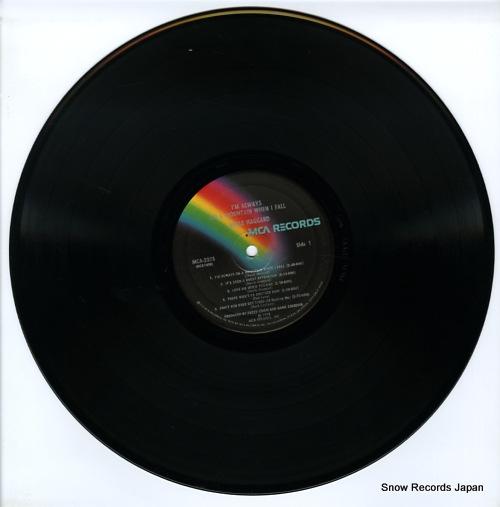HAGGARD, MERLE i'm always on a mountain when i fall MCA-2375 - disc