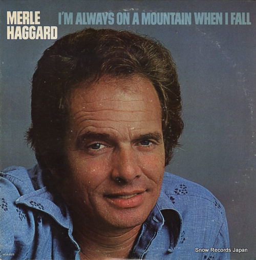 HAGGARD, MERLE i'm always on a mountain when i fall MCA-2375 - front cover