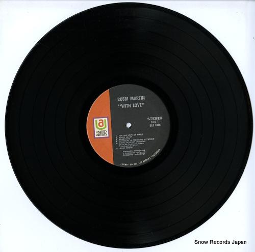 MARTIN, BOBBI with love UAS6755 - disc