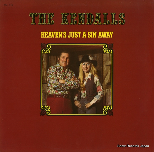 KENDALLS, THE heaven's just a sin away OV-1719 - front cover