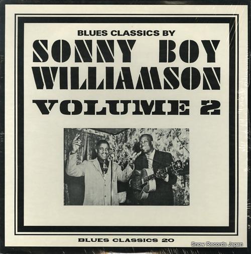 サニー・ボーイ・ウィリアムソン blues classics by volume 2 BC20