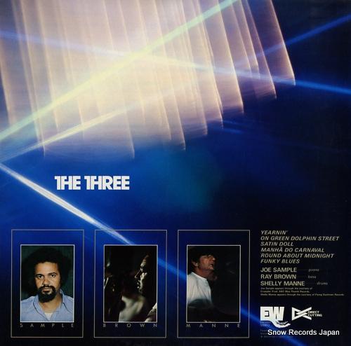 THREE, THE the three EW-10001 - back cover