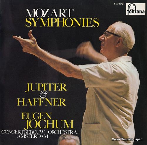 JOCHUM, EUGEN mozart; symphonies