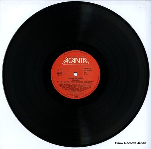 MOLINARI - PRADELLI, FRANCESCO verdi; rigoletto HA21474 - disc