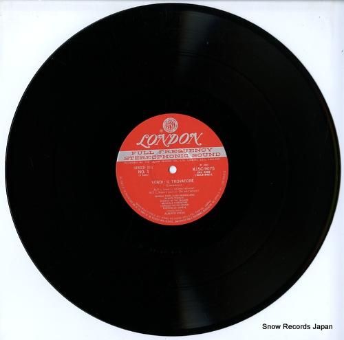 EREDE, ALBERTO verdi; il trovatore-complete recording K15C-9075/7 - disc