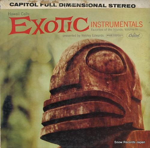 ウェブリー・エドワーズとハワイ・コールズ hawaii calls: exotic instrumentals ST-1409