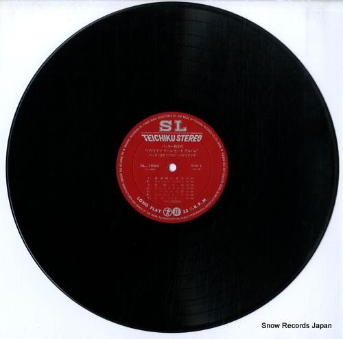 SHIRAKATA, BUCKIE, AND ALOHA HAWAIIANS hawaiian all hit album SL-1024 - disc