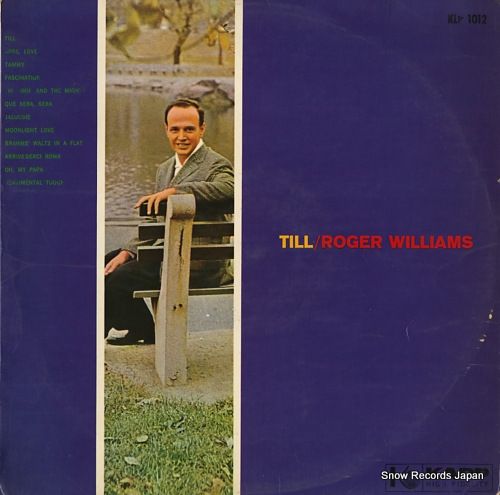 WILLIAMS, ROGER till KLP1012 - front cover