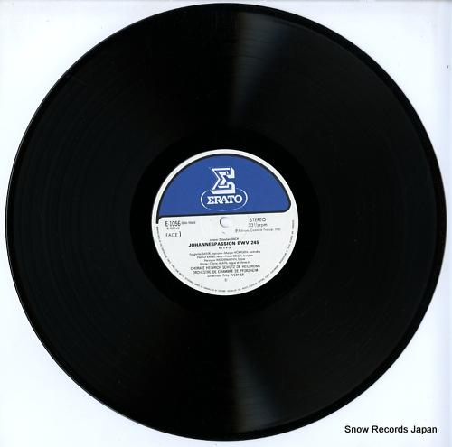WERNER, FRITZ bach; johannespassion bwv 245 E-1056-7 - disc