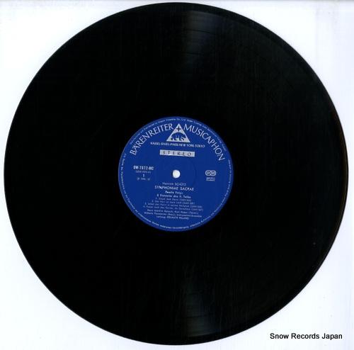 RILLING, HELMUTH schutz; symphoniae sacrae (zweite folge, 8 konzerte des ii. teiles) OW-7872-MC - disc