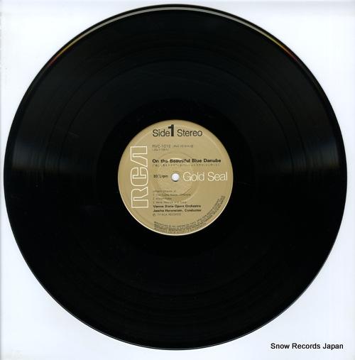 HORENSTEIN, JASCHA strauss; on the beautiful blue danube RVC-1018 - disc