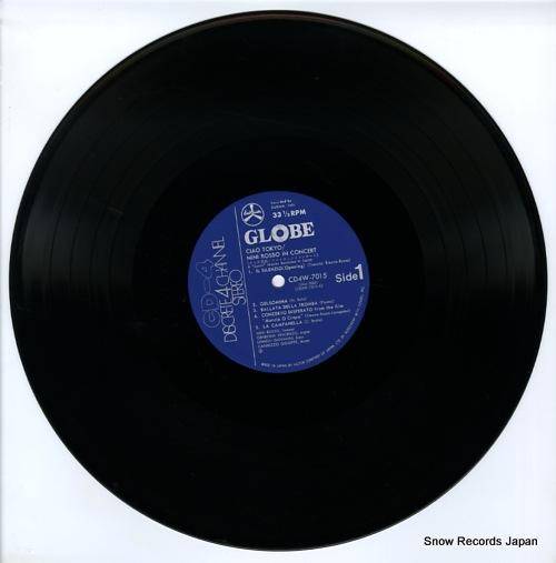 ROSSO, NINI ciao tokyo CD4W-7015 - disc