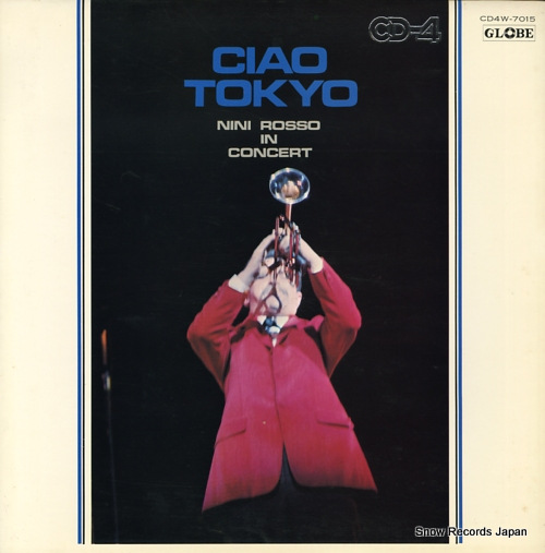 ROSSO, NINI ciao tokyo CD4W-7015 - front cover