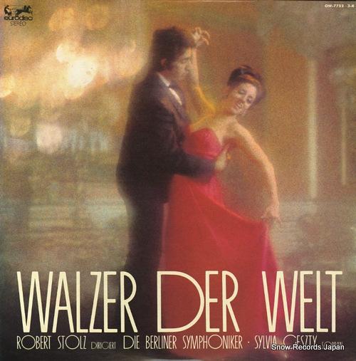 STOLZ, ROBERT walzer der welt OW-7752-3K - front cover