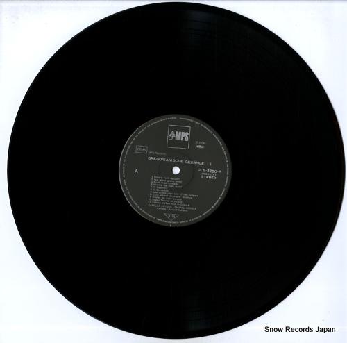 RUHLAND, KONRAD gregorianische gesange i ULS-3250-51-P - disc