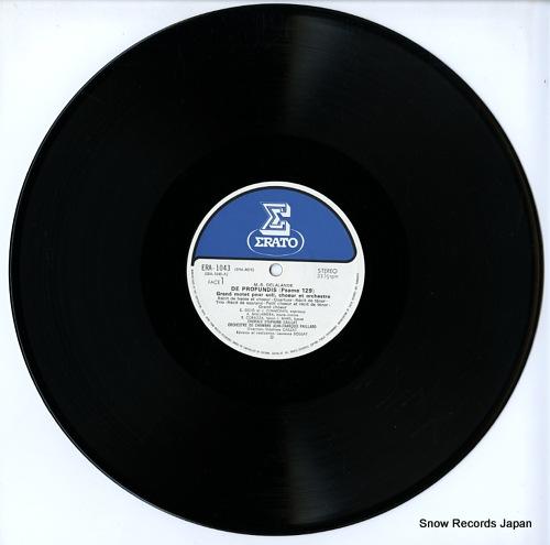 CAILLAT, STEPHANE m.-r.delalande; de profundis (psamue 129) ERA-1043 - disc
