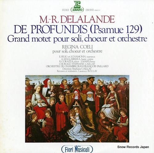 CAILLAT, STEPHANE m.-r.delalande; de profundis (psamue 129) ERA-1043 - front cover