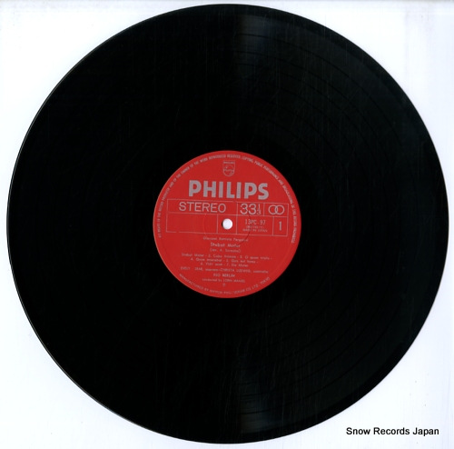 MAAZEL, LORIN pergolesi; stabat mater 13PC-97 - disc
