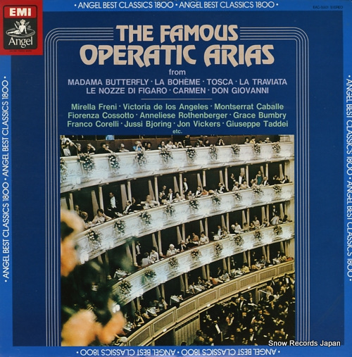 V/A the famous operatic arias EAC-55101 - front cover