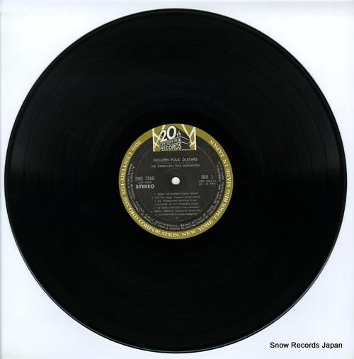 GREENWICH FOLK MESSENGERS, THE golden folk guitars SWG-7068 - disc