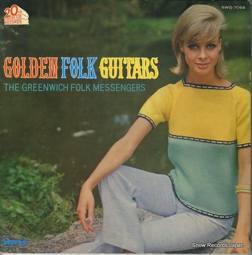 GREENWICH FOLK MESSENGERS, THE golden folk guitars SWG-7068 - front cover