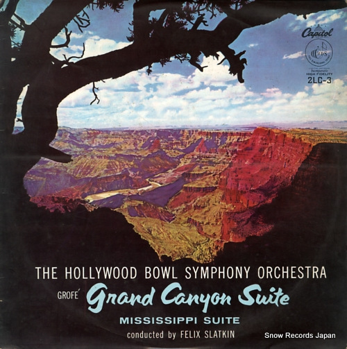 SLATKIN, FELIX grofe; grand canyon suite 2LC-3 - front cover