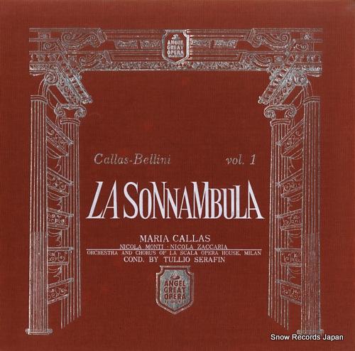 CALLAS MARIA - bellini; la sonnambula - 33T