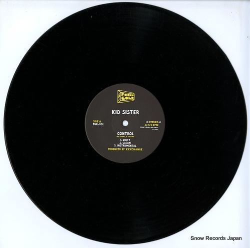 KID SISTER control FGR-001 - disc