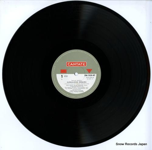 EHMANN, WILHELM schutz; musikalische exequien OW-7828-KT - disc